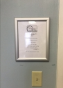 Classroom sign holder - FBCL